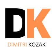 LOGO Dimitri Kozak FOND BLANC
